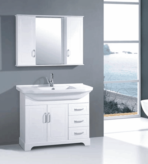 Winnipeg Bathroom Vanities: PVC Bathroom Vanity With Mirror